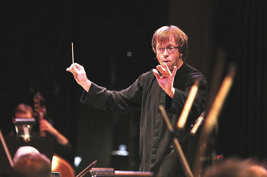 Spokane Symphony music director Eckart Preu.