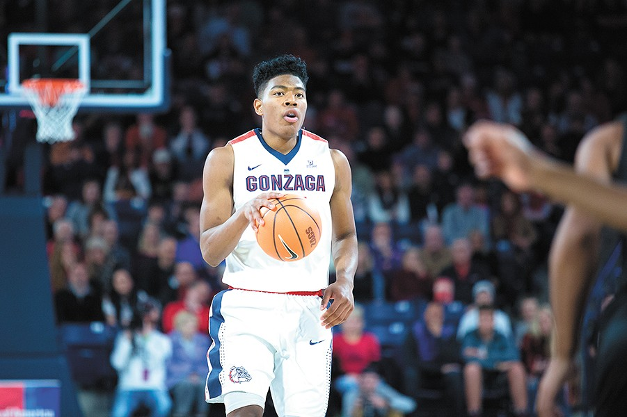 Sophomore Rui Hachimura could be the next Zags big man to make a splash in the pros. - LIBBY KAMROWSKI