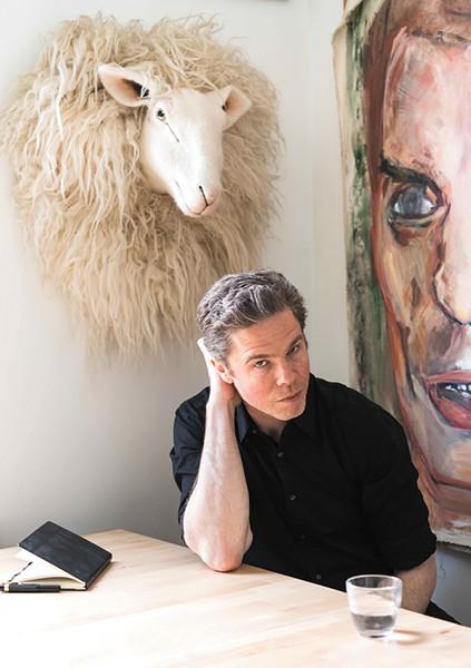Singer-songwriter Josh Ritter hits theKnitting Factory on Friday. - LAURA WILSON