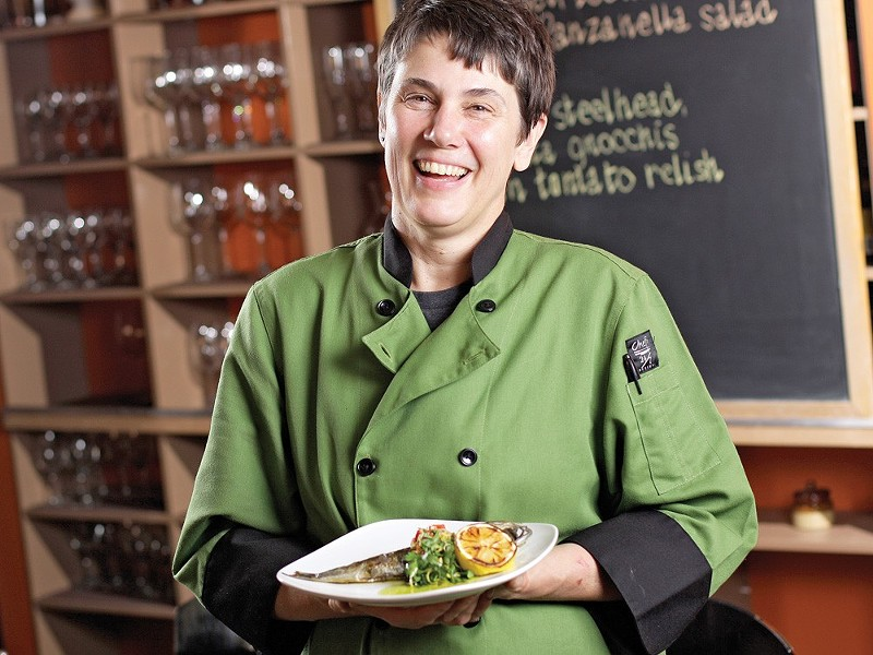 Italia Trattoria chef and co-owner Anna Vogel is a 2018 James Beard Award semifinalist. - YOUNG KWAK