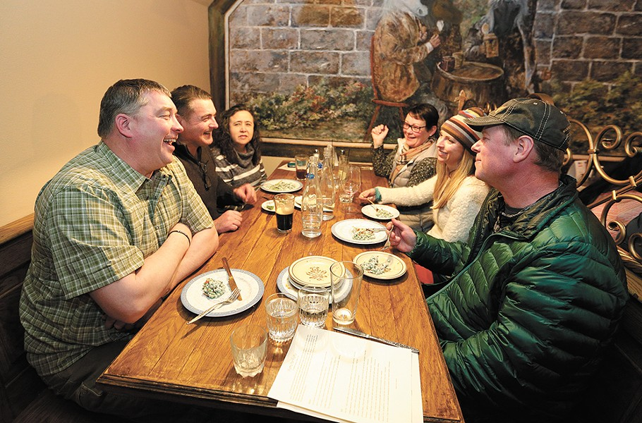 There are a few more days to enjoy Restaurant Week. Pictured is the Gilded Unicorn, one of 107 participating eateries. - YOUNG KWAK