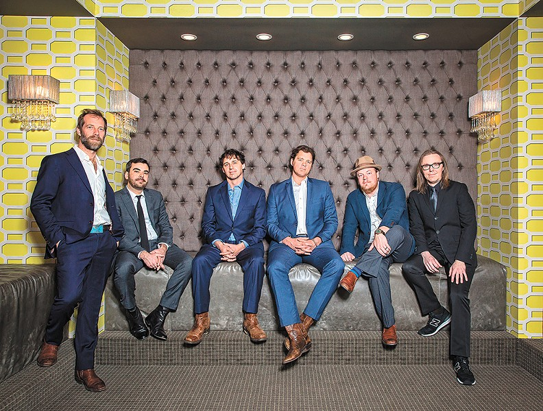 The seasoned musicians in Steep Canyon Rangers, performing with the Symphony this weekend, are pushing the boundaries of bluegrass. - SHELLY SWANGER PHOTO