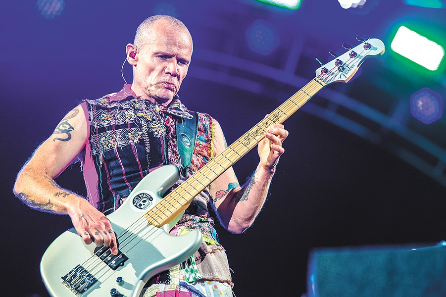Flea of the Red Hot Chili Peppers. - STEFAN BRENDING PHOTO
