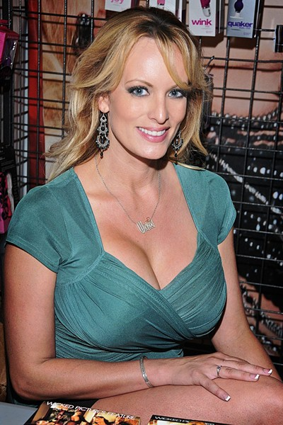 Stephanie Clifford, known professionally as Stormy Daniels - GLENN FRANCIS