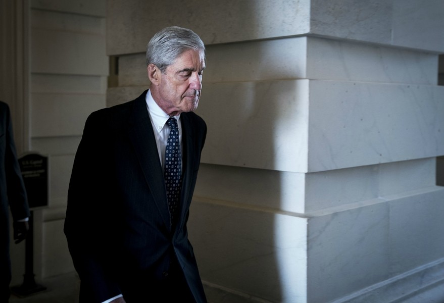 Robert Mueller, the special counsel leading the Russia investigation - DOUG MILLS/THE NEW YORK TIMES
