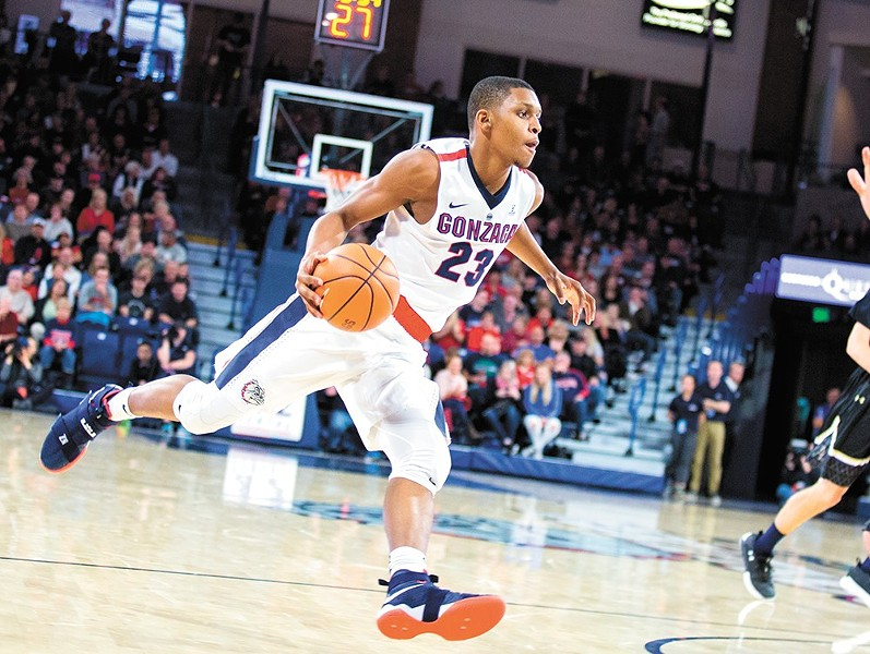 Zach Norvell, the 6-foot-5 redshirt freshman, has emerged as a star in the tourney so far. - LIBBY KAMROWSKI