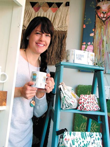 Justine Murray of La Chic Boutique - CARRIE SCOZZARO