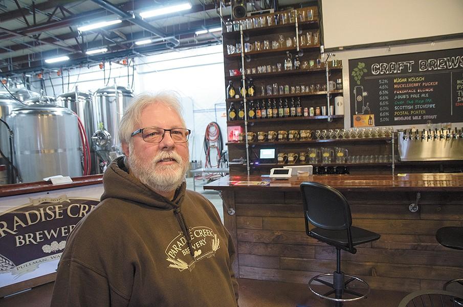 Paradise Brewery's Tom Handy - JACOB JONES