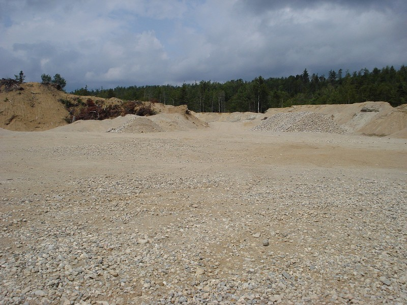 Spokane County would like to see a one-time gravel pit (not this one) turn into a Kendall Yards-style development.
