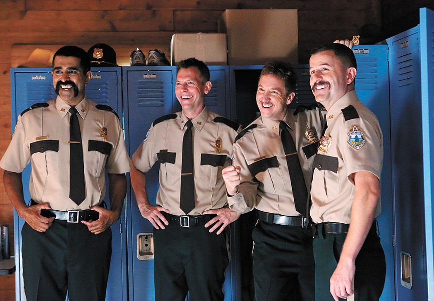 So many dick jokes it's almost Freudian. - SUPER TROOPERS 2