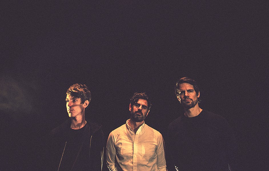 It's all about process for Tycho's Scott Hansen (center), who brings his heady electronica to the Knitting Factory next week. - LAUREN CREW PHOTO