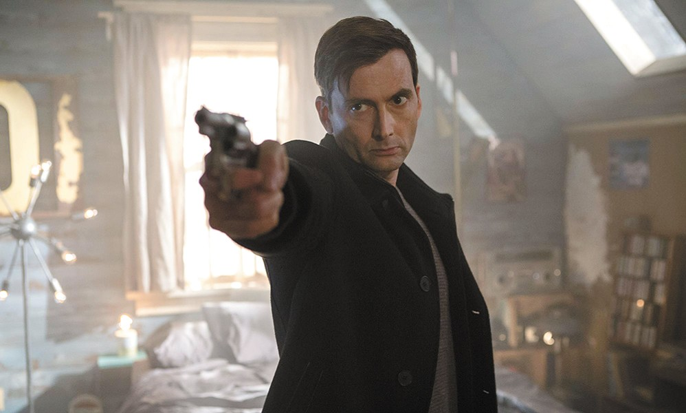 Not even a TARDIS could save David Tennant from the aggressive stupidity of Bad Samaritan.