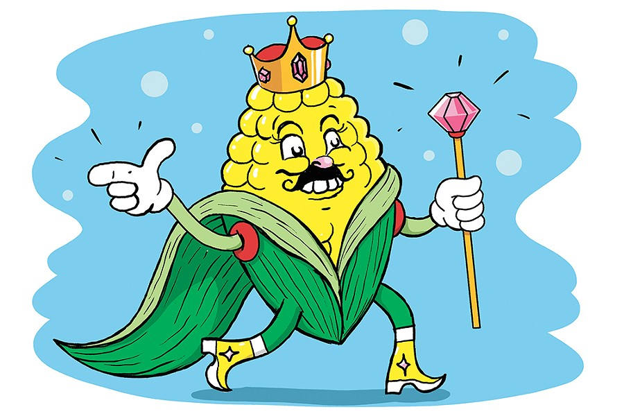 King Corn - CALEB WALSH ILLUSTRATION