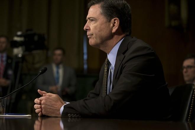 Former FBI Director James Comey - GABRIELLA DEMCZUK/THE NEW YORK TIMES