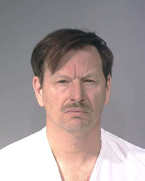 Gary Ridgway in a 2001 mugshot - KING COUNTY SHERIFF'S OFFICE BOOKING PHOTO