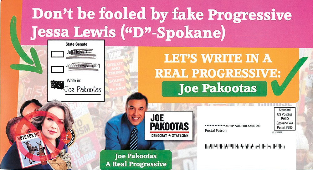 Progressive groups file complaint over phony write-in ads | the.