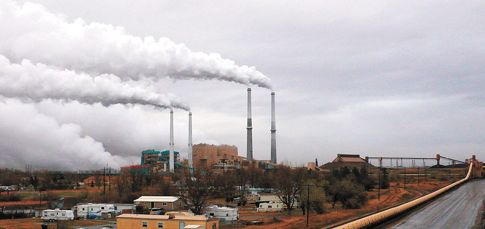 The Sierra Club is betting that the days are numbered for the Colstrip coal plant, which Avista partially owns. - SIERRA CLUB PHOTO