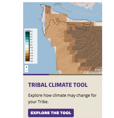 UW'S NEW CLIMATE TOOL FOR NORTHWEST TRIBES