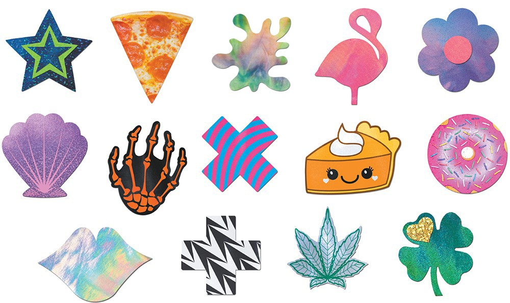 Various designs by Pastease