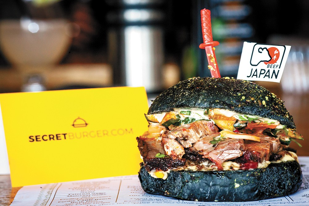 Secret Burger A New Off Menu Ticketed Dining Series