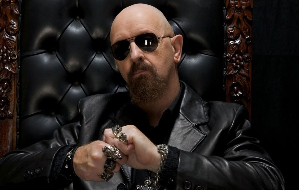 Judas Priest's Rob Halford talks about his hot day in the sun with Joan Baez and Jack Nicholson