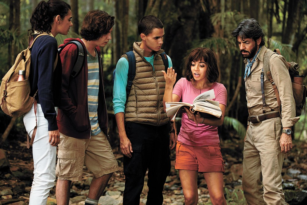 The Dora the Explorer movie is a potentially fun kid's adventure ...
