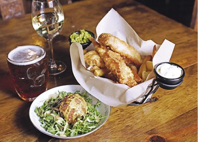 Haddock Fish 'n Chips available during The Great Dine Out