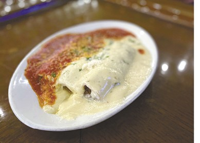 Cannelloni available during The Great Dine Out