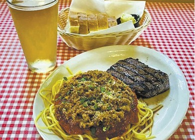 Steak and spaghetti available during The Great Dine Out