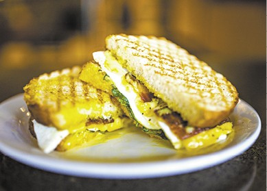 Fried Egg Sammy available during The Great Dine Out