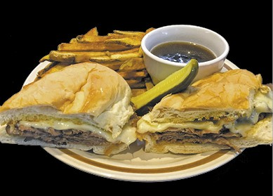 The Best French Dip available during The Great Dine Out