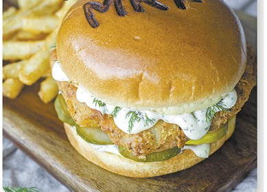Dill With It Chicken Sando available during The Great Dine Out