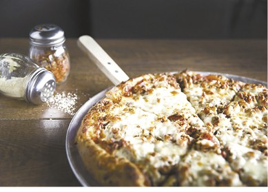 """14"""" Meat Coma Pizza available during The Great Dine Out"""