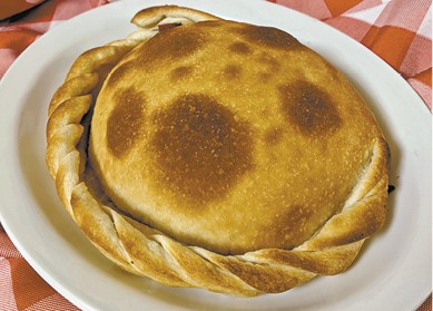 The Original Calzone available during The Great Dine Out