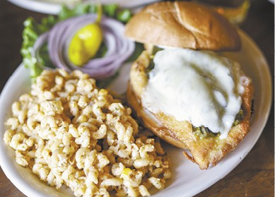 Sante Fe Chicken Sandwich available during The Great Dine Out