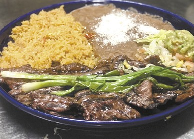 Carne Asada available during The Great Dine Out