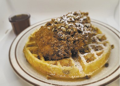 Chicken & Waffle available during The Great Dine Out