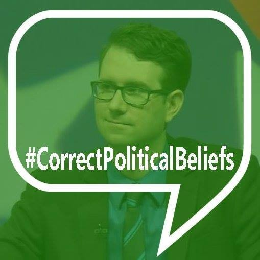 My more recent Facebook profile pic takes a clear stand against believing the correct things, and against believing the incorrect things.