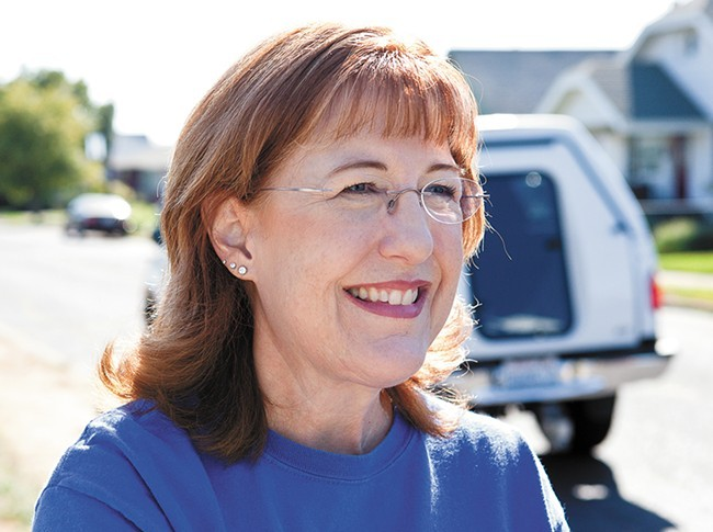 Nancy McLaughlin lost her seat after only months on the county commission