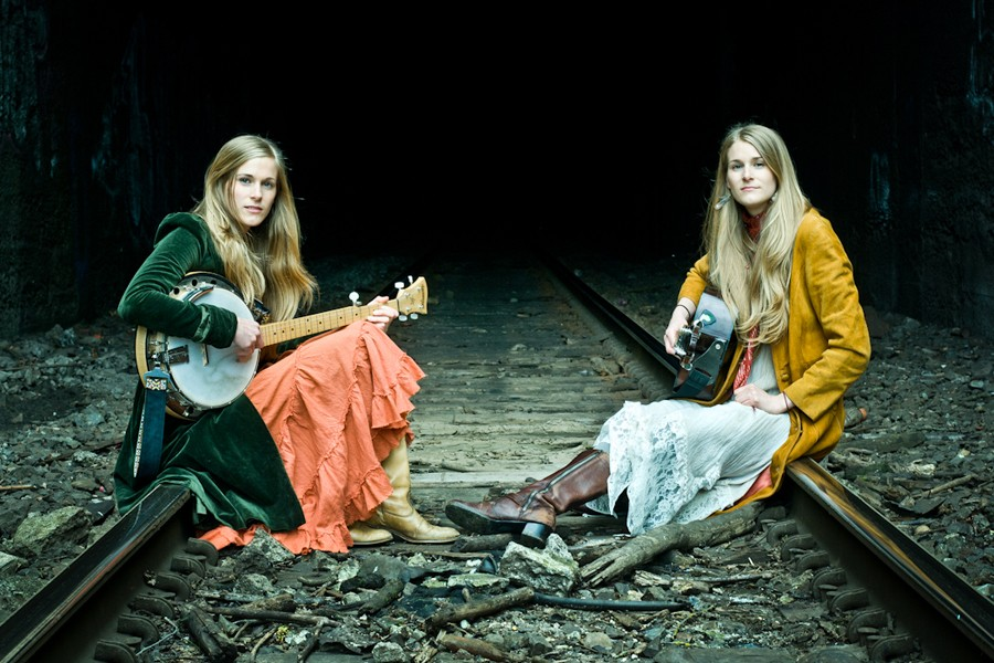 The Shook Twins headline The Bartlett Wednesday.