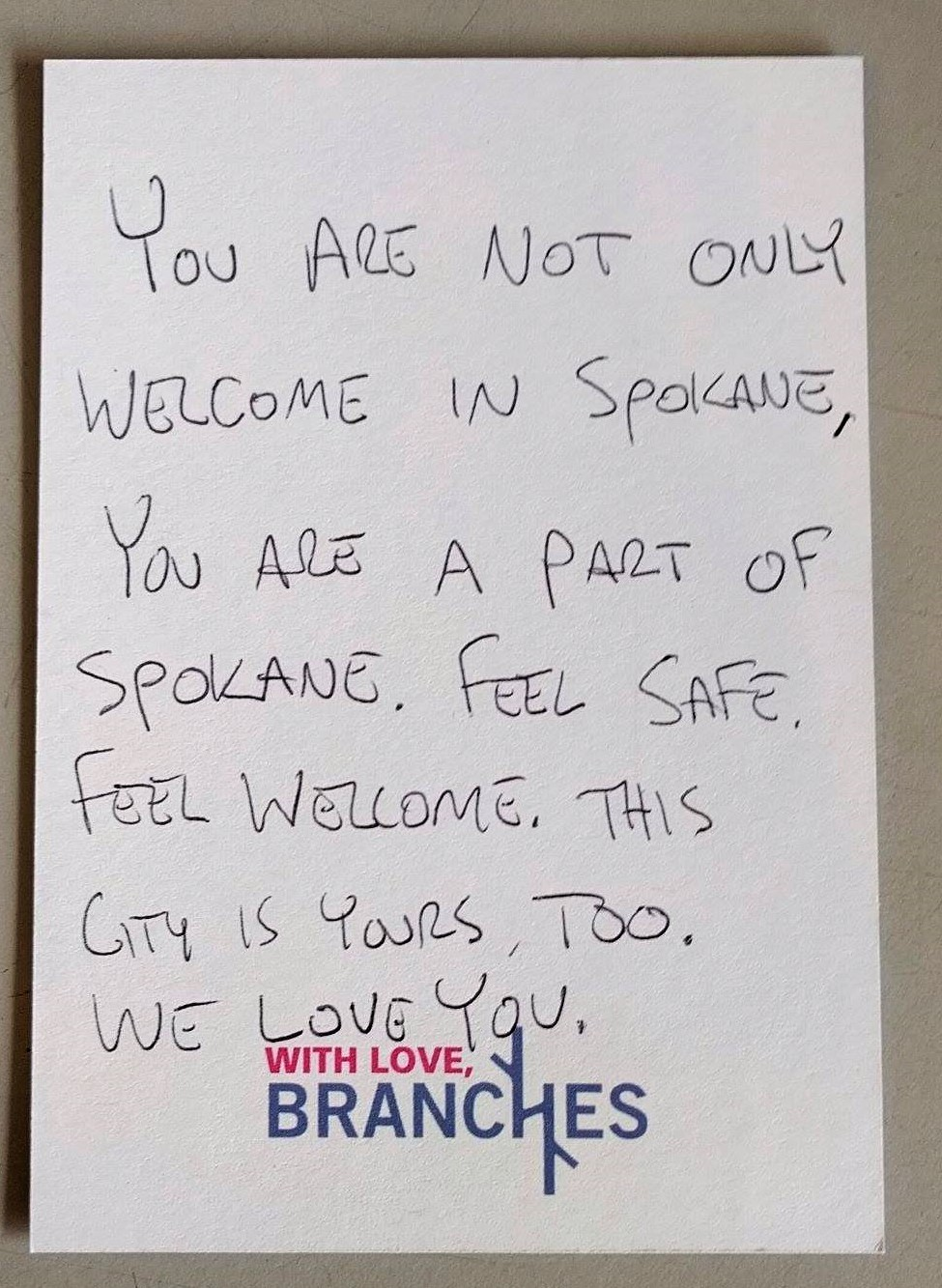 Read notes local churchgoers wrote after Trump's election to
