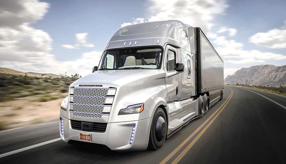 Trucking is likely to be one of the first self-driven sectors.