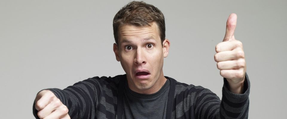 Daniel Tosh performs in Spokane May 4.