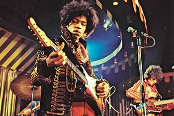 Jimi Hendrix's music continues to inspire guitarists today.