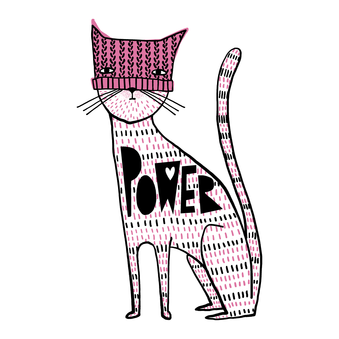 pullman artist s cat power design raises thousands for national Cat TV click to enlarge after separate c aigns featuring this design to support planned parenthood and the aclu artist cori