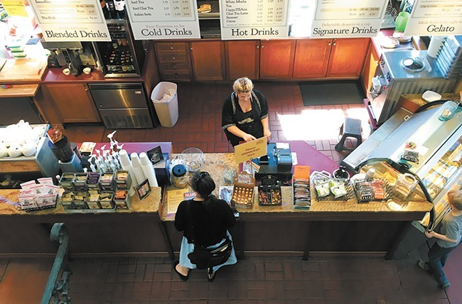 The Sandpoint café now offers an expanded menu and a wine bar.