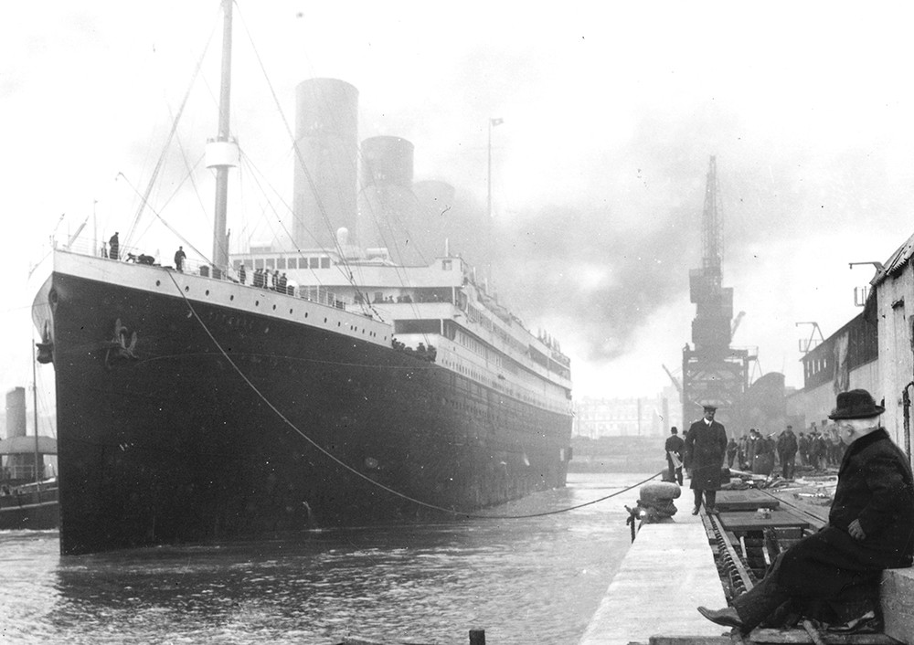 rms titanic a ship of widows At 145am on april 15, 1912, an hour and a half after the titanic hit the iceberg, j bruce ismay, president of the company that built the ship, jumped into one of the last lifeboats to leave on.