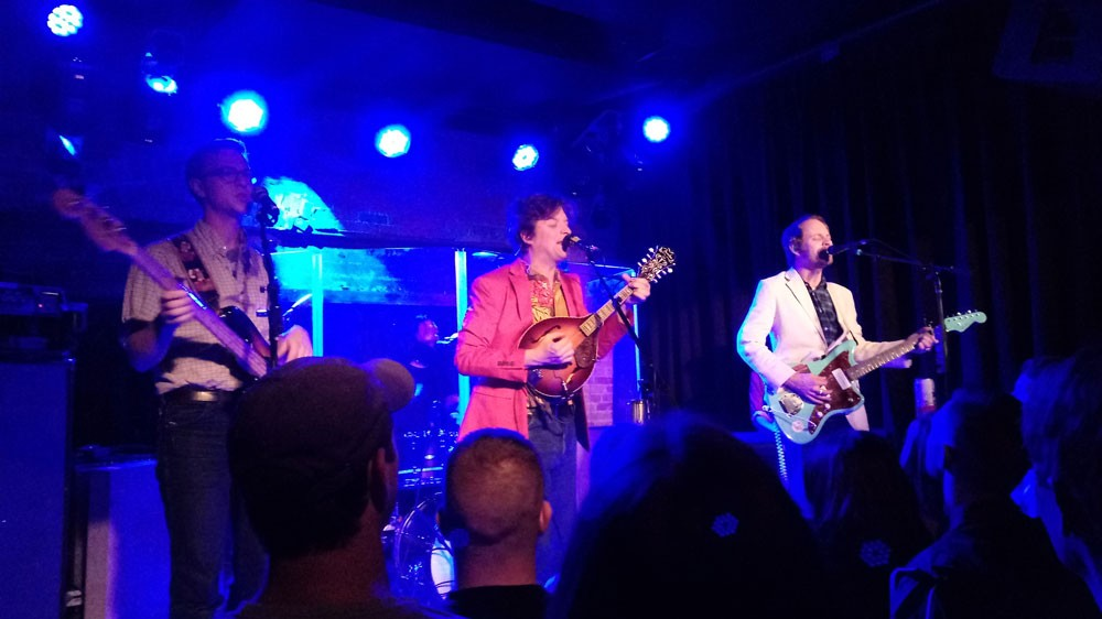 Deer Tick arrived late and played late into the night Thursday at the Bartlett. - DAN NAILEN