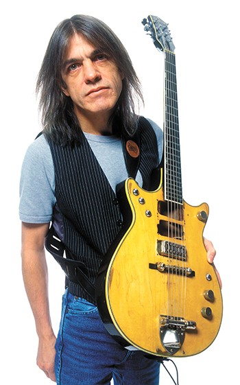 R.I.P. Malcolm Young of AC/DC