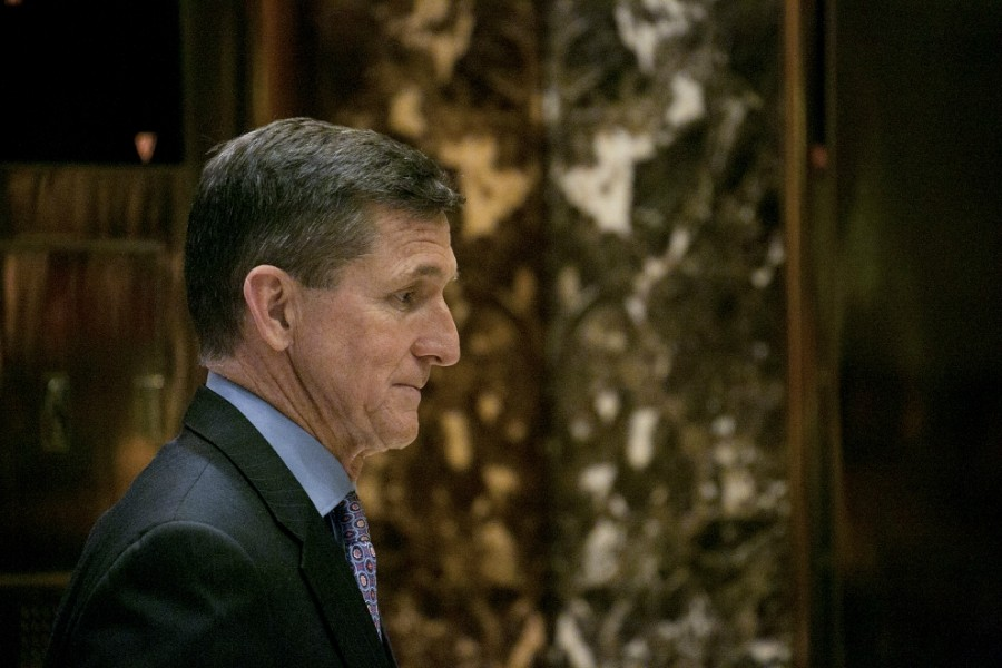 Former national security adviser, Michael T. Flynn - SAM HODGSON/THE NEW YORK TIMES